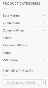 buying or searching genuine Cummins marine engine and